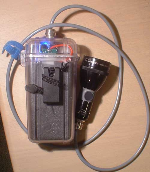 dive light - diy underwater canister scuba torch., Reel Combo